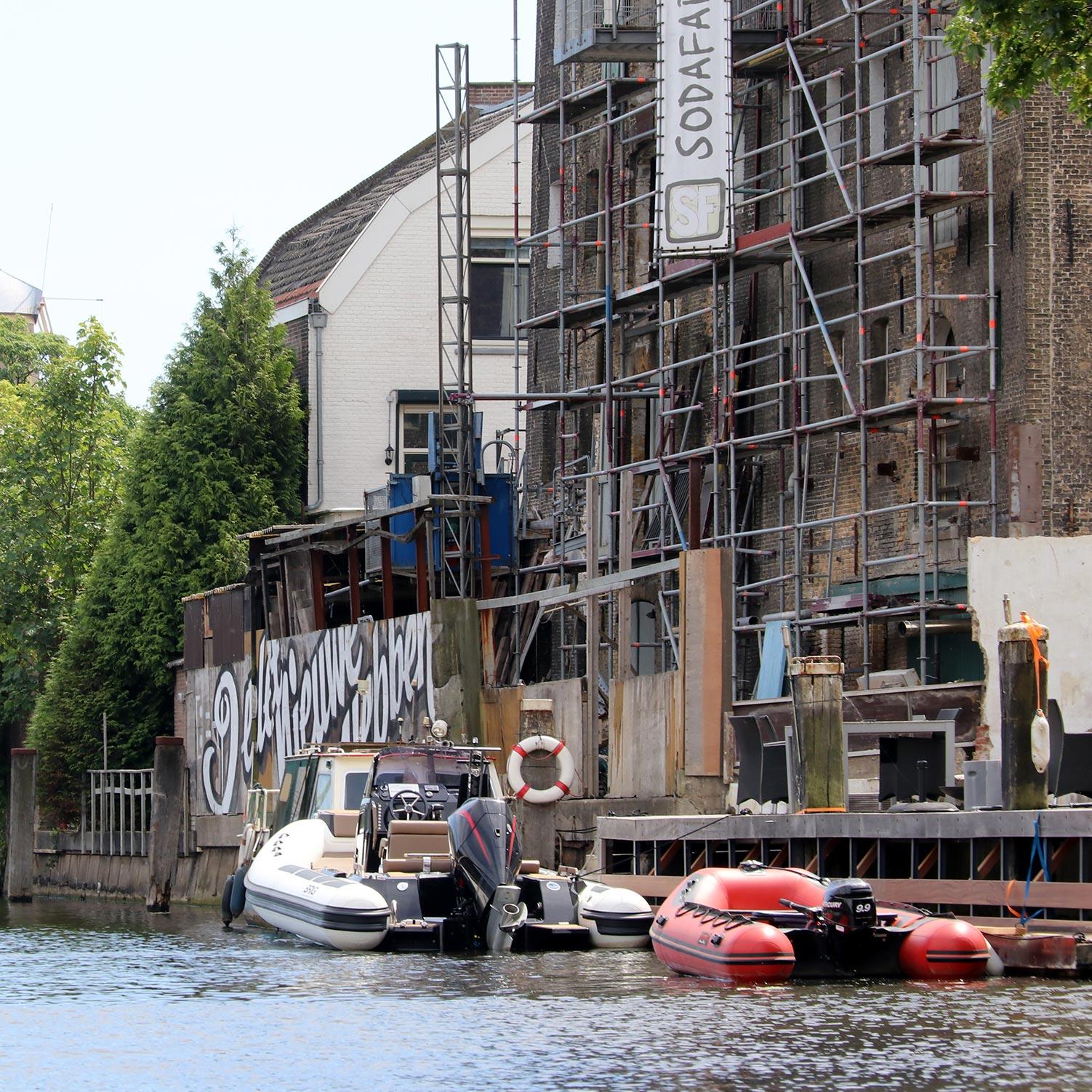 S'loep Schiedam Soda fabriek